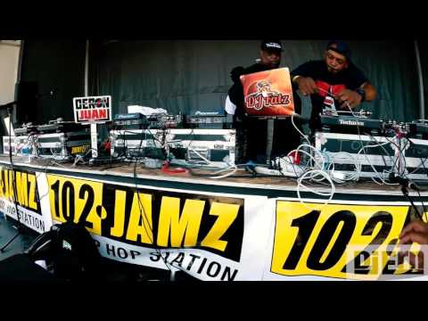 102 JAMZ 2017 DJ BATTLE