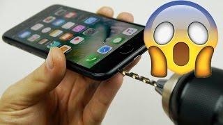 سر خطير كيف تصنع ثقب السماعات لهاتف أيفون 7 إبتكااار مذهل