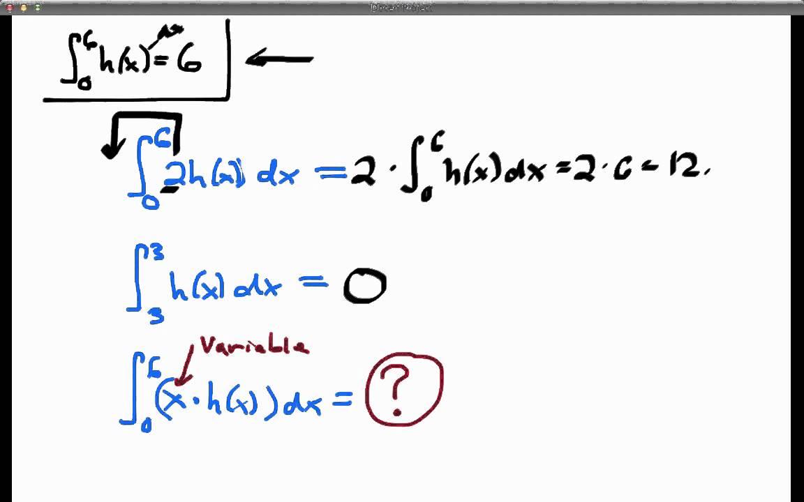 screencast 4 3 3  evaluating definite integrals using
