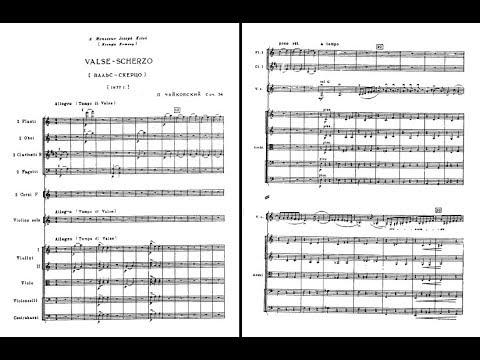 Pyotr Ilyich Tchaikovsky - Valse-Scherzo For Violin And Orchestra Op. 34 (audio + Sheet Music)