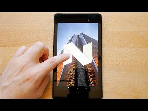 Nexus 7 (2013) и Android 7.0 Nougat