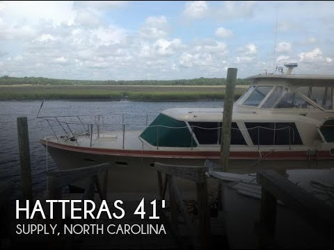 Used 1963 Hatteras 41 Double Cabin for sale in Supply, North Carolina