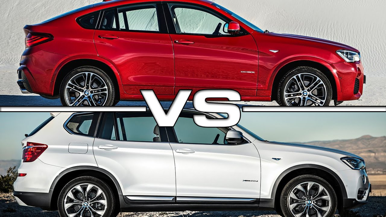 Bmw X4 Vs Bmw X3 Youtube