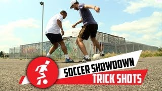 Trick Shot - Invisible ball with the Soccershowdown