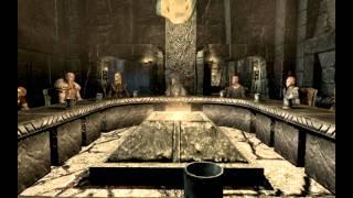 Прохождение Skyrim [Серия 15][Ловушка для дракона](Собираем совещание между воюющими коалициями. По окончанию совещания получаем несколько заданий. Отправля..., 2012-02-07T01:42:57.000Z)