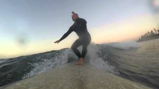 10-28-14 Sunrise Surfing at C Street, Ventura, CA