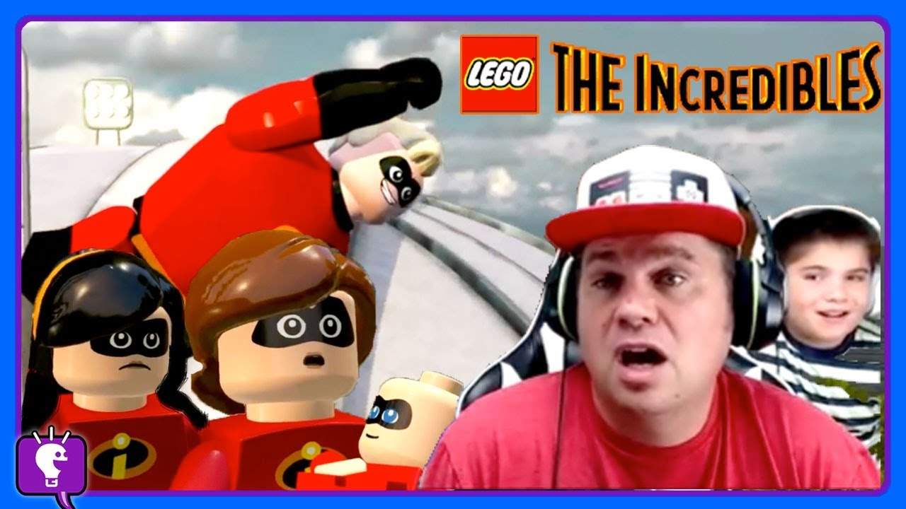 Lego Incredibles Video Play Parts 1,2 and 3 Compilation with HobbyKidsTV