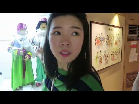 Korean Folk Museum - Tonkatsu - Instant Ramen - Running Man   Korea Vlog Day10 Part III