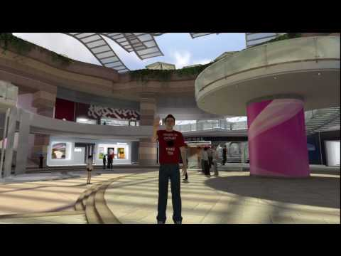 PlayStation Home: Shopping Centre - Tour