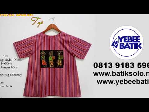 Seragam Batik Modern | 0813 9183 59
