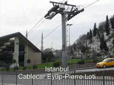 Istanbul - Cablecar Eyüp - Pierre Loti