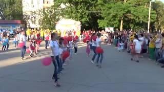 День России 12 июня 2017 Новофедоровка ФЛЕШМОБ