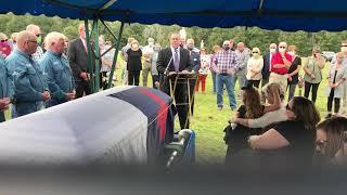 Marty Robbins Funeral-multicam