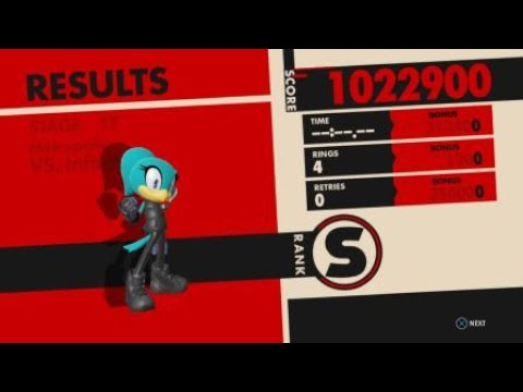 SONIC FORCES Asteroid Wispon Is Broken YouTube