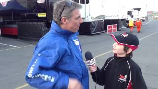 Jason Plato - Brands Hatch (after quali) BTCC 2014