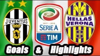 Juventus vs Hellas Verona - Goals & Highlights Calcio Série A
