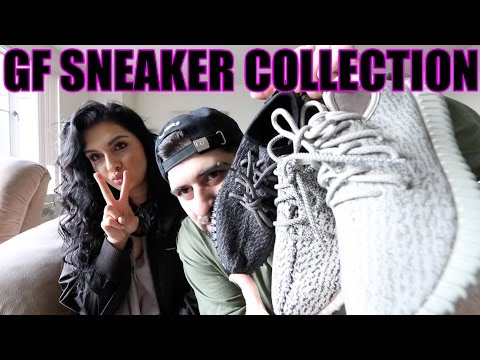 Girlfriends Entire Sneaker Collection!! (SHE GOT HEAT!!)