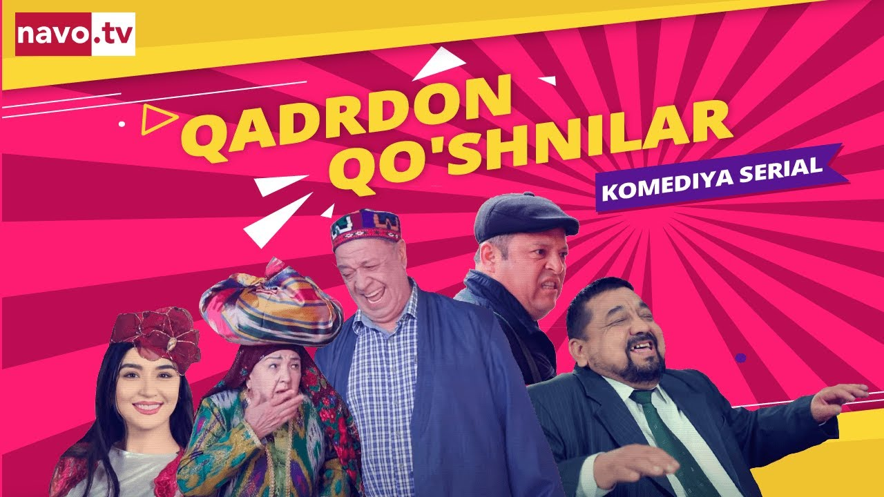"""Qadrdon qo'shnilar"" (13-qism) l ""Қадрдон қўшнилар"" (13-серия)"