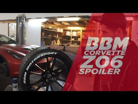 BBM Corvette Z06 Projekt: C7 Spoilerkit und Felgen