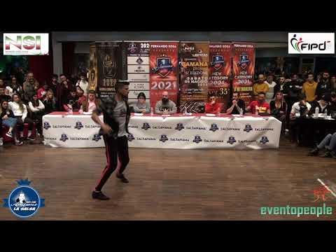SALSANAMA' 2020 : IRYGOYEN BORDE LUCAS  VS DE ANGELIS NICOLO'   - AMATEUR MEN - 85