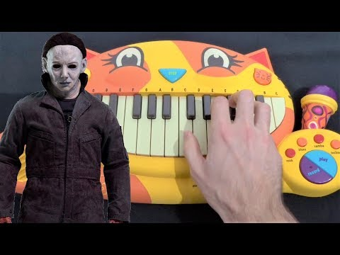 HALLOWEEN THEME BUT IT'S ON A CAT PIANO (MICHAEL MYERS)