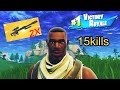 1 SENPAI 2 HEAVY SNIPERS 2 ENEMIES 15 KILLS WIN FORTNITE FUNNY MOMENTS
