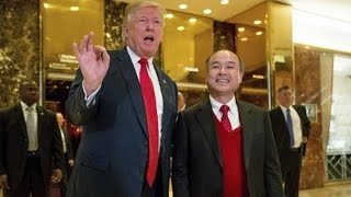 Donald Trump Announces 50,000 Jobs And $50 Billion Investment From SoftBank Japan (REACTION)