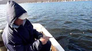 The Center For Animal Behavioral Research :  Fishing With Bob On Greenwood Lake