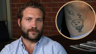 EXCLUSIVE: Jai Courtney Explains His Tattoo Drawn by Late Friend Andy Whitfield's Daughter