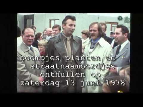 VB78-18018-3363 Verbroedering 1978 Boompjes en straatnaambordjes./100