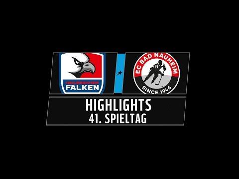 DEL2 Highlights 41. Spieltag | Heilbronner Falken vs. EC Bad Nauheim