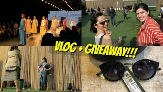 GIVEAWAY + MY WEEKEND AT FASHION WEEK!