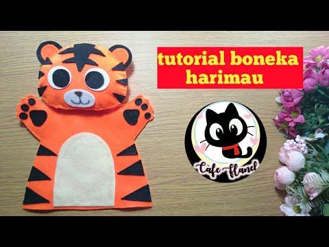 Ide Usaha - Boneka tangan harimau    cara membuat boneka ...