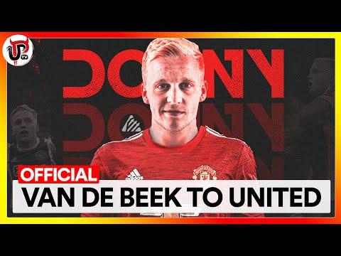 OFFICIAL: MAN UTD CONFIRM VAN DE BEEK SIGNING