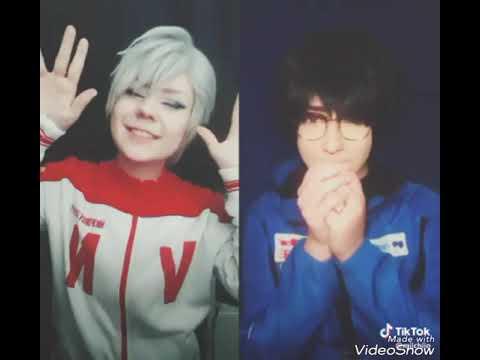 Yuri on ice tik tok musical.ly cosplay compilation part 4