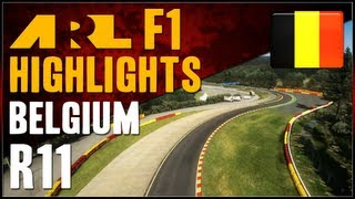 F1 2012 | ARL F1 - S6 Round 11 - Belgian Grand Prix (Commentary)