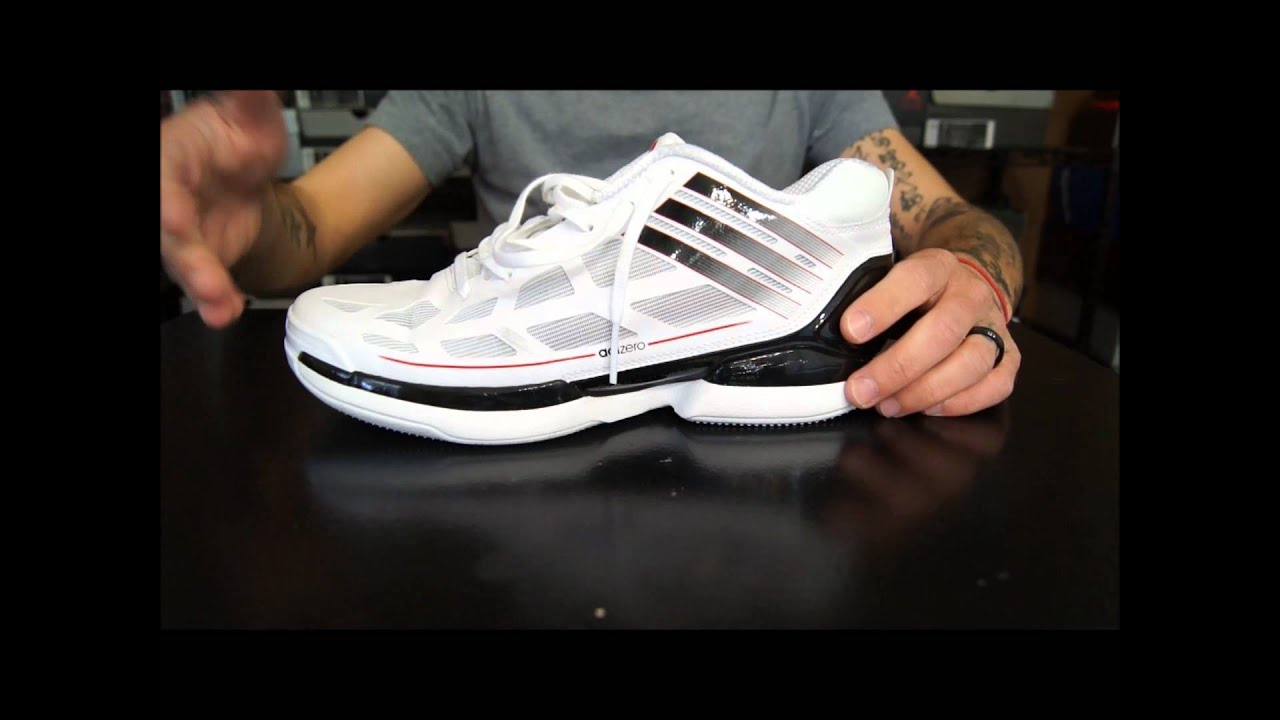 watch 96831 5d169 Adidas Adizero Crazy Light Low Performance Review Youtube