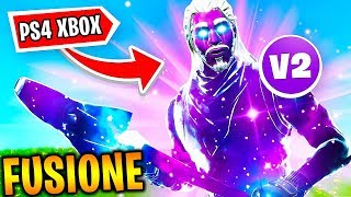 "🔥 COMMENT GET THE SKIN FUSION sur FORTNITE PS4 et XBOX ""glitch"""