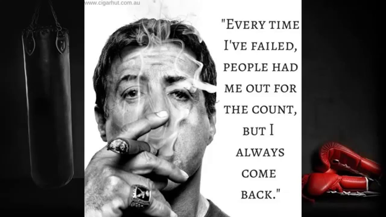 rocky sylvester stallone inspirational quotes eye of the
