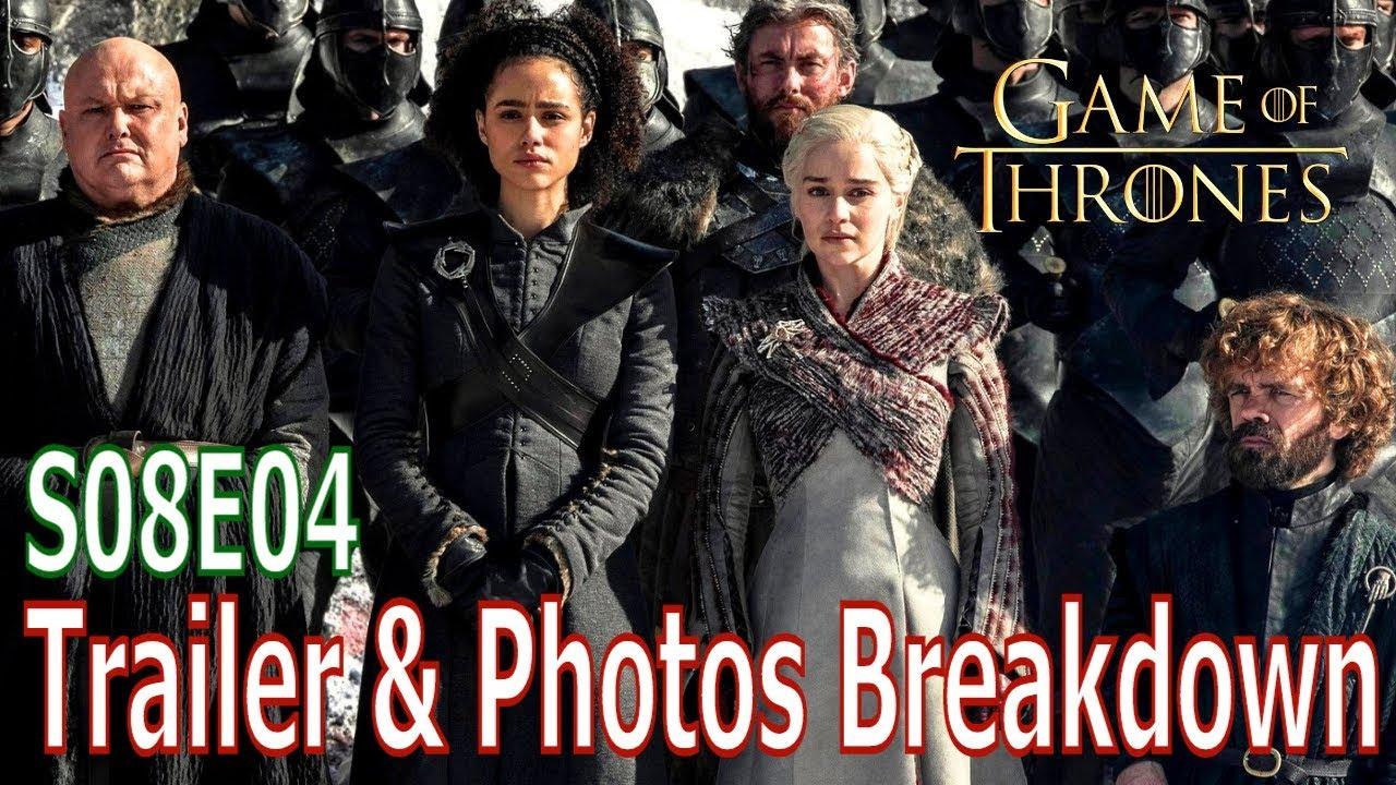 Download Game of Thrones Season 8 Episode 4 Promotional Photos & Trailer Breakdown