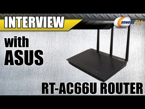 Newegg TV: ASUS Dual-Band Wireless AC 1750 Gigabit Router Overview w/Interview