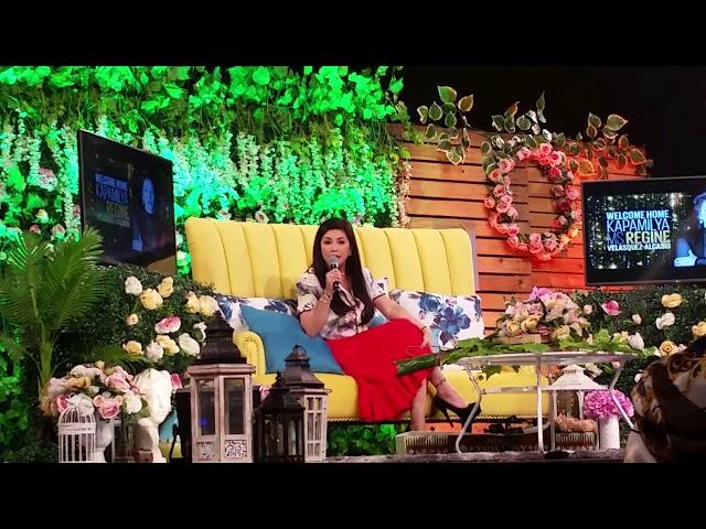 Regine Velasquez willing mag-guest sa Ang Probinsyano;nakita ang CocoYass together sa Abs-Cbn ball