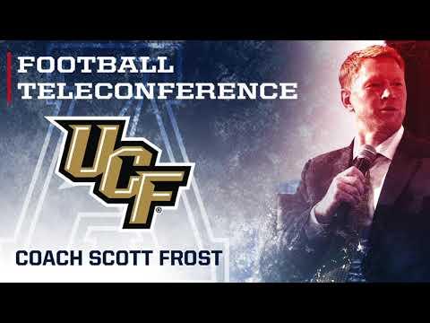 2017 Football Teleconference Week 4 - UCF Head Coach Scott Frost
