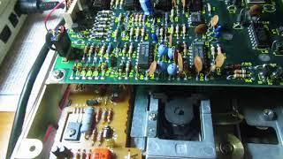 Commodore 1541 disk drive failed repair attempt: R/W head damaged.