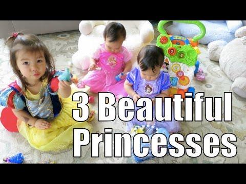 Three Most Beautiful Princesses - April 10, 2015 -  ItsJudysLife Vlogs