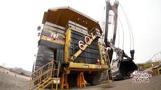 Download Video Begini Rasanya Naik Truck Sebesar Rumah yang Ada di Tambang Freeport MP3 3GP MP4