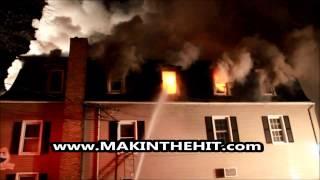 PRE-VIEW: K-Ville Hotel Fire, Lebanon County, PA 04.01.2015