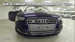 audi s5 cabriolet 3 0t premium quattro 2013