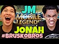 JM VS JONAH MOBILE LEGENDS BRUSKOBROS 2018
