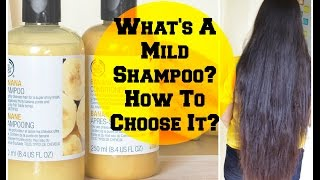 What's a MILD Shampoo, How to choose Sulfate-free Shampoos? | Sushmita's Diaries